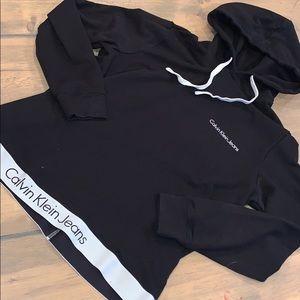 Calvin Klein hooded sweatshirt